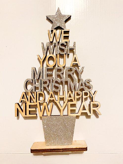 We Wish Glitter Tree
