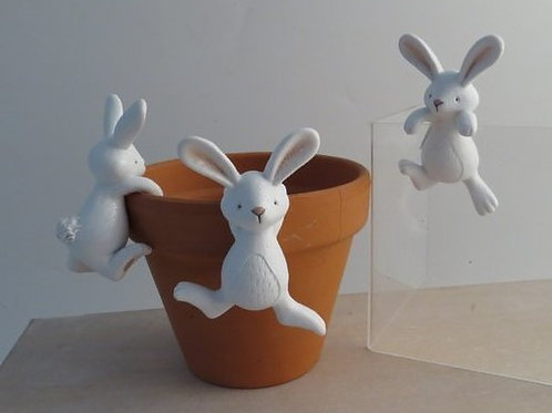 Pot Hanger Bunnies