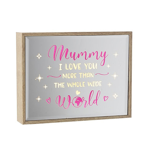 Mummy LED Mirror