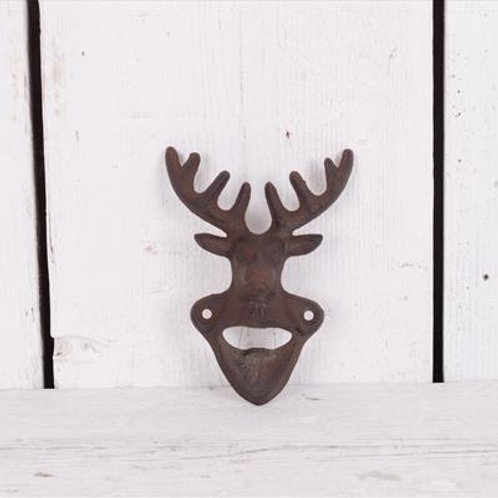 Cast Iron Stag Bottle Opener