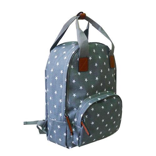 Mini Stars Backpack - Grey