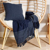 Blue Stitched Blanket