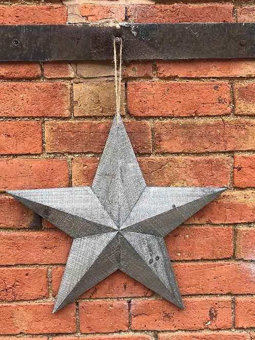 Wooden Barn Star