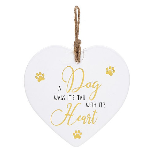 Dog Heart Plaque