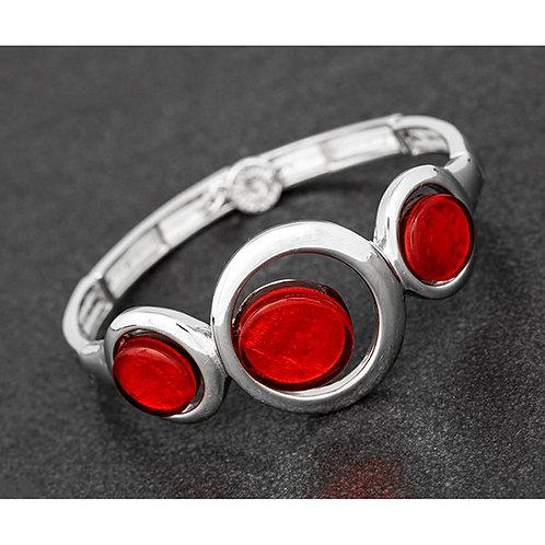 Etched Circles Bracelet