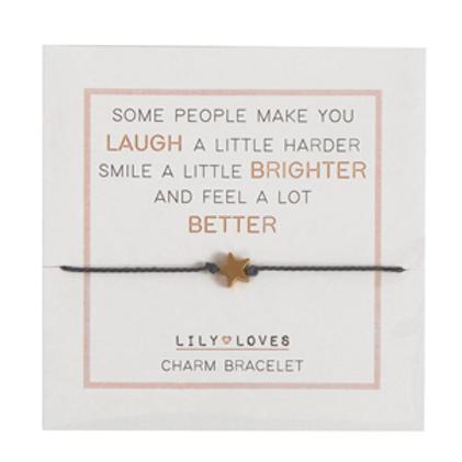 Some People Make You Charm Bracelet