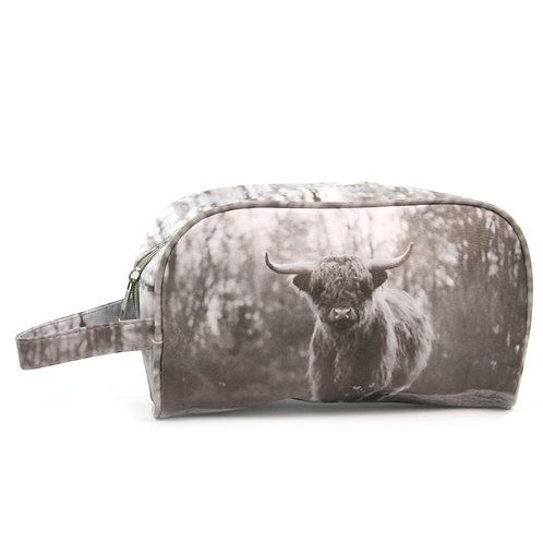 Highland Cow Wash Bag