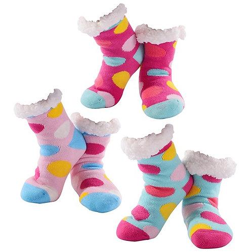 Cosy Polka Dot Socks (Child)