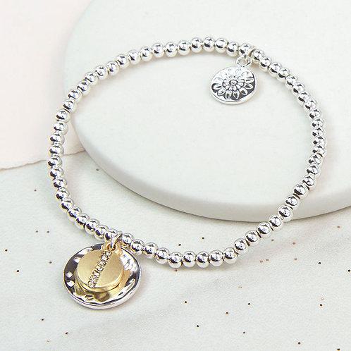 B19014 Double Disc Bracelet