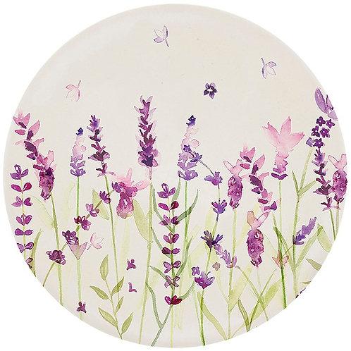 Lavender Bamboo Plates