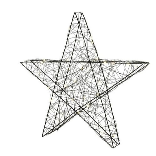 Large Outdoor LED Wire Star