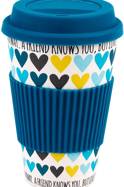 A Friend Knows You Bamboo Travel Cup
