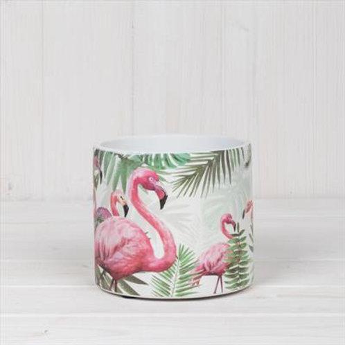 Flamingo Pot