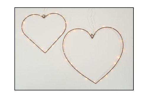 Copper Outline Heart