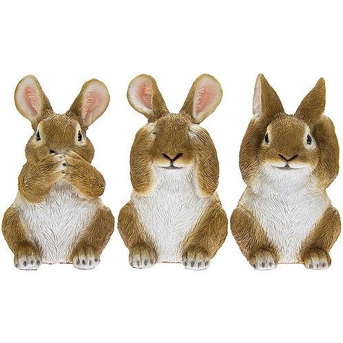 See No Evil Bunnies