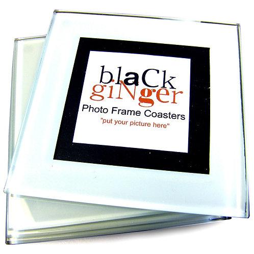 Glass Photo Frame Coasters