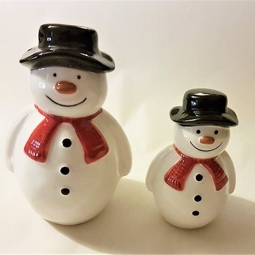 Standing Ceramic Snowman (large)