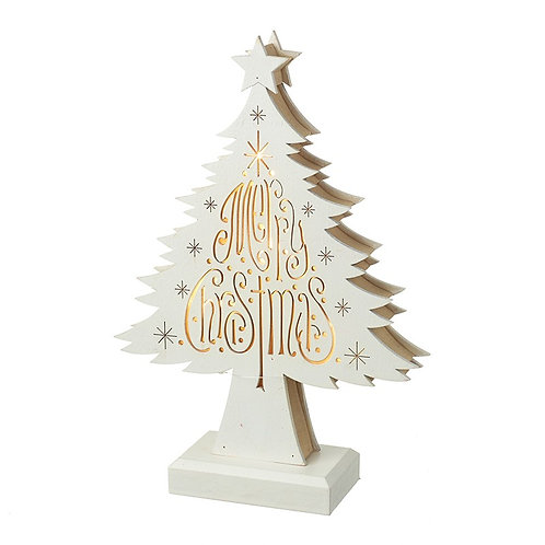 LED Merry Christmas Tree