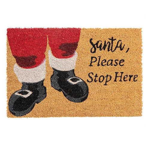 Santa Door Mat