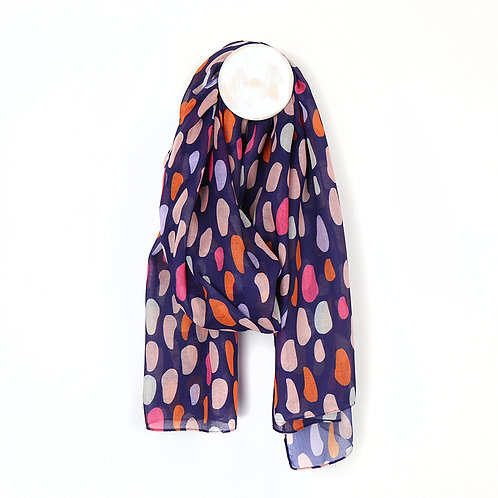 Recycled Multi Pebbles Scarf