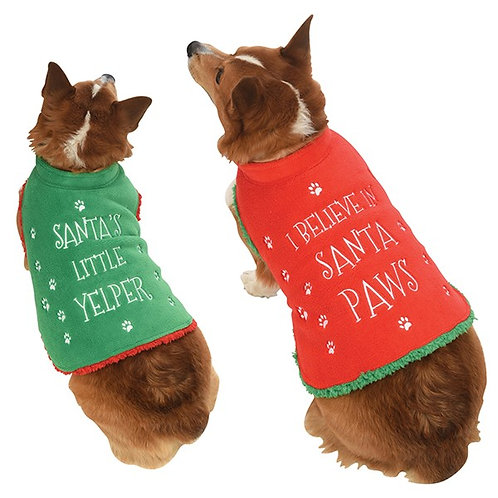 Christmas Dog Coat (Large)