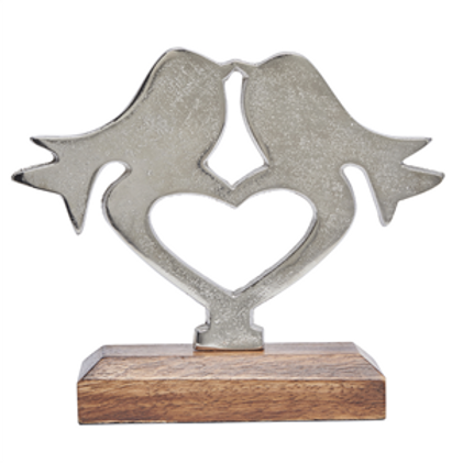 Aluminium Lovebirds