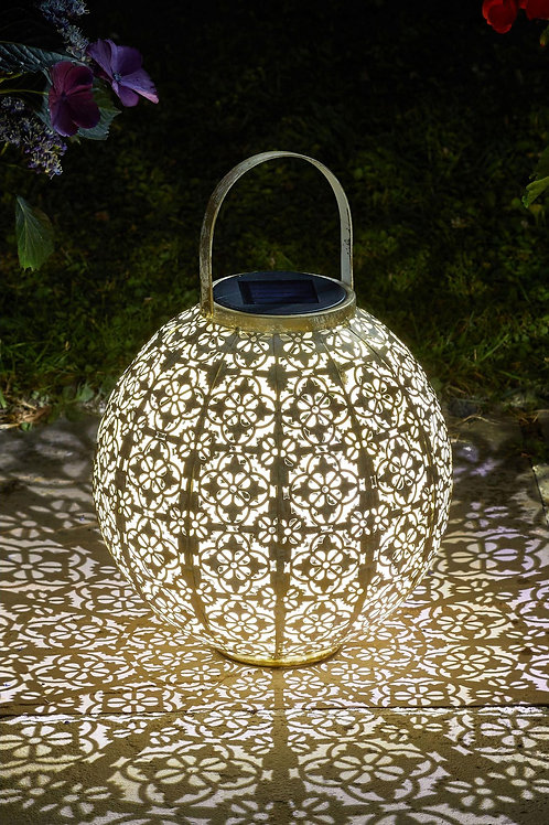 Solar Damasque Lantern