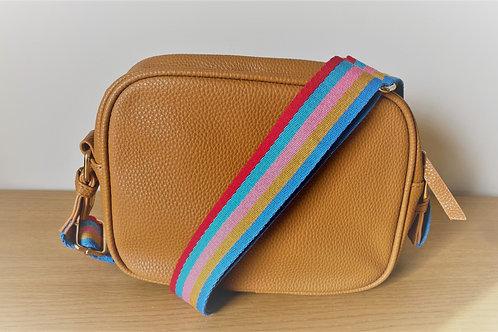 Single Zip Camera Bag - Tan