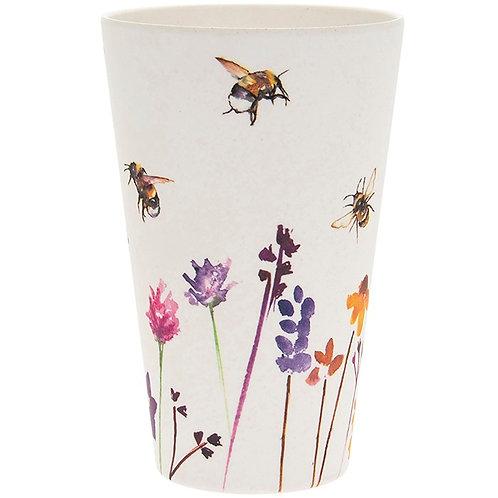 Busy Bees Bamboo Beaker