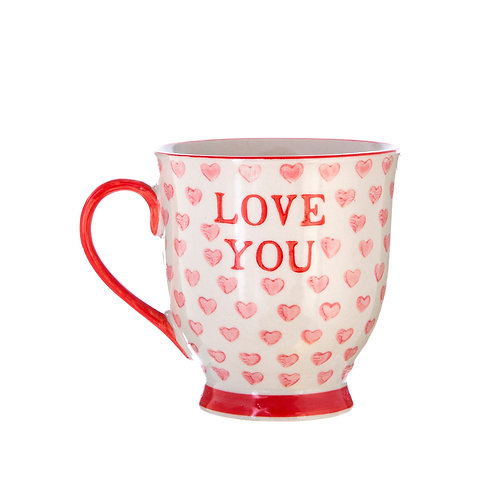 "Ceramic ""Love You"" Mug"