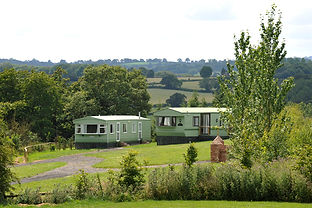 static caravan at denn farm holiday park