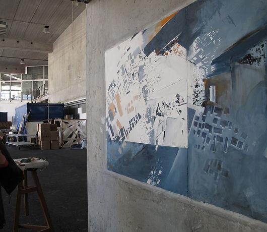 peinture fresque archiculture ensa nante