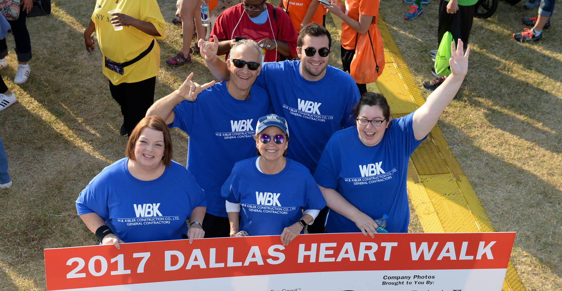 American Heart Walk - WBK Company Photo.