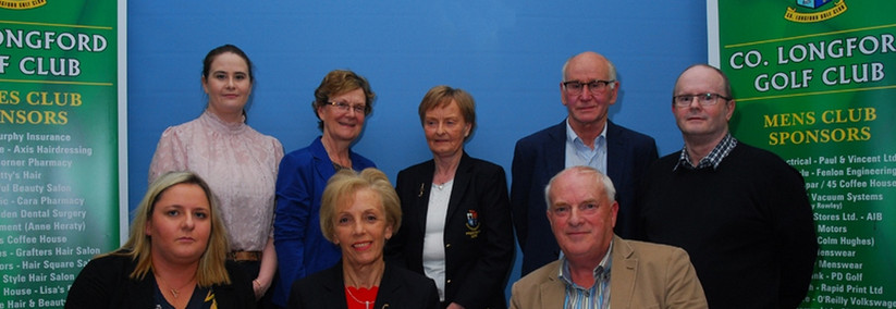 Lady Captain Susan presented proceeds of competition to Longford the Pheonix Centre
