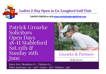 Patrick Groarke Solicitors 2-Day Open 20