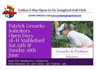 Patrick Groarke Solicitors 2-Day Open 20