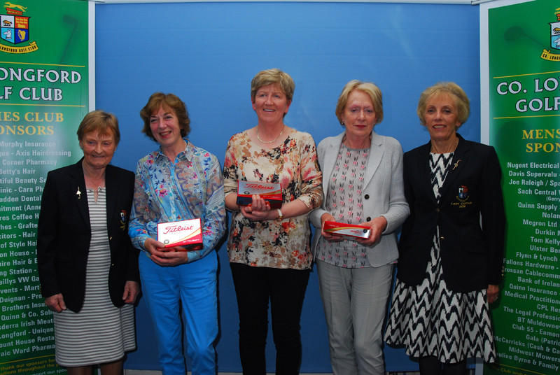 Ladies Category Matchplay sponsored by the President Jean Dennigan