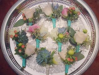Succulent Boutinnieres