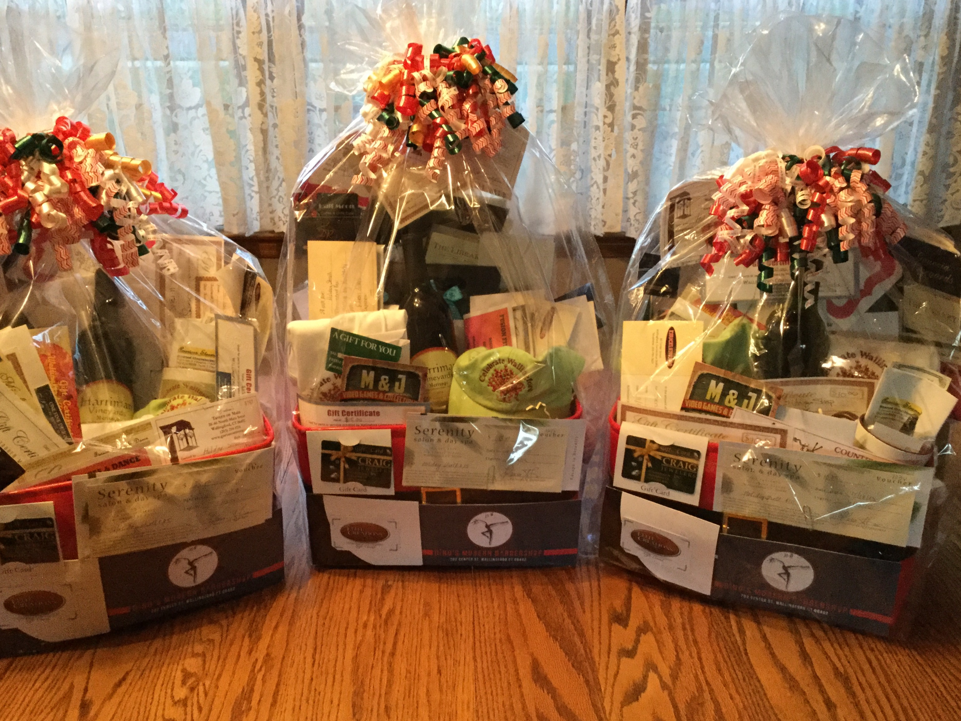 Holiday Stroll Baskets