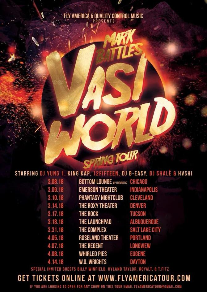 Mark Battles Talks Vasi World Tour