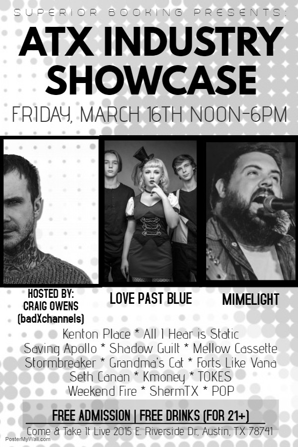 Superior Booking SXSW Industry Showcase with Craig Owens