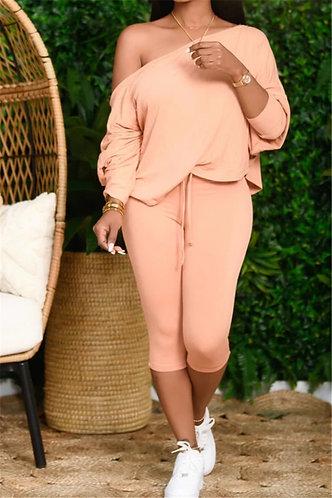 Pink 2PC Loungewear