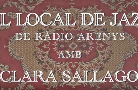 Con toda la banda en Local de Jazz de Radio Arenys