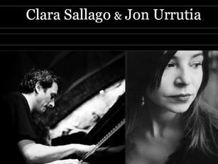 Concert à Paris Jon Urrutia & Clara Sallago