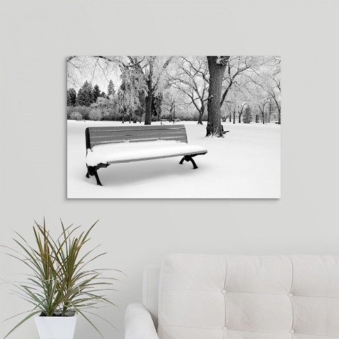Winter Bench (Display)