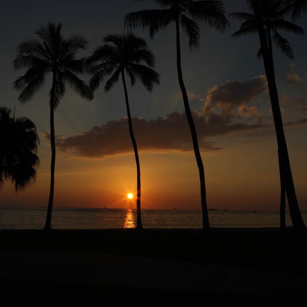 Waikikai Sunset