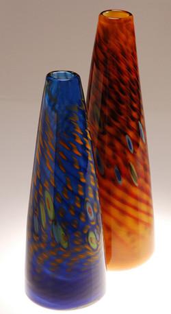 Murrine Conical Vase