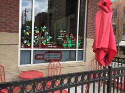Window Art at WineFeed
