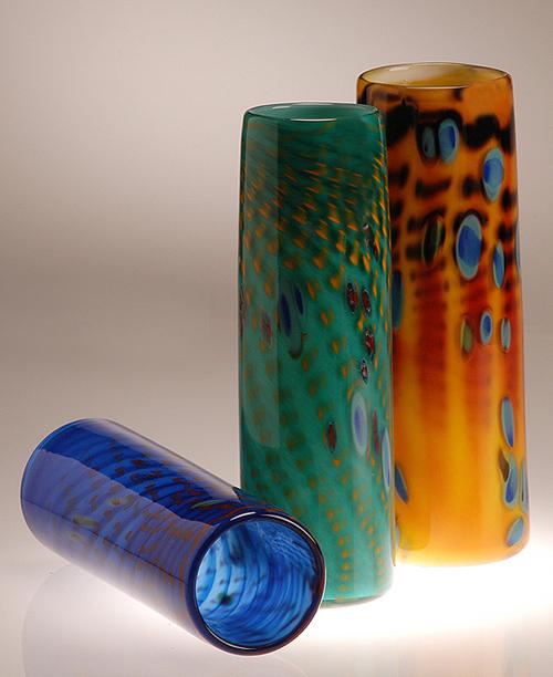Murrine Cylinder Vase