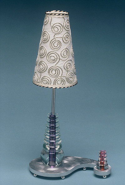 Paisley Bead Table Lamp